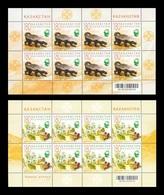 Kazakhstan 2009 Mih. 662/63 Flora And Fauna (2 M/S) MNH ** - Kazakhstan