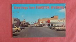 - Wyoming> Evanston ( Street View With Stores =====  =====   Ref  2193 - Evanston
