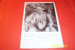 LE GROS BUVEUR   D'APRES MILCENDEAU  CHARLES  SOULLANS 1872 / 1919  °° THEME L'ALCOOL - Vignes