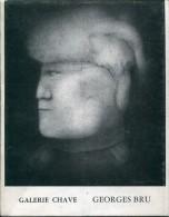 Catalogue Galerie Alphonse Chave Georges Bru Dessins - Art