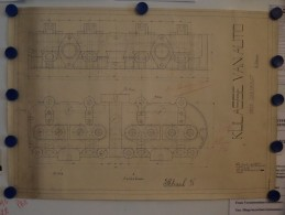 KULASSE Van AUTO Merk CHEVROLET 4 Cilinder - Schaal 1/1 ( De Bruyn Henri ) Anno 19?? ( Zie Foto's Voor Detail ) ! - Planes Técnicos