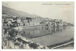 CPA  - MONTE CARLO  VUE PRISE DE LA CONDAMINE - Monaco - Monte-Carlo