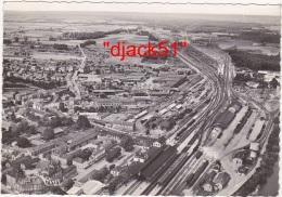 51 - CHALONS-sur-MARNE (Marne) - Vue Aérienne - La Gare En Direction De Paris - Châlons-sur-Marne
