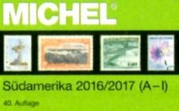 MICHEL Süd-Amerika A-I Part 3/1 Briefmarken 2016/2017 New 84€ America Argentinien Bolivien Brazil Chile Ecuador F-Guyana - Alte Papiere