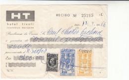 Mozambique / Hotels / Revenue Stamps / Receipts - Mozambique