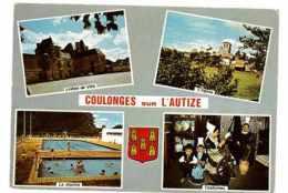 CPSM 79 COULONGES-SUR-L'AUTIZE MULTIVUE - Coulonges-sur-l'Autize