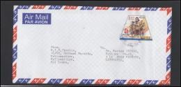 SRI LANKA Letter Brief Postal History Cover LK 009 Air Mail Olympic Games 2008 In Beijing - Sri Lanka (Ceylon) (1948-...)