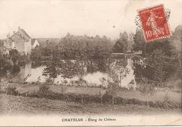 23 Creuse  :    Chatelus Malvaleix    étang Du Château      Réf 1733 - Chatelus Malvaleix