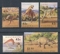 162 AUSTRALIE 1993 - Dinosaure Prehistoire (Yvert 1328/33) Neuf ** (MNH) Sans Trace De Charniere - 1990-99 Elizabeth II