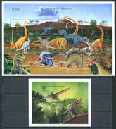162 BHOUTAN 1999 - Prehistoire Dinosaure (Yvert 1356/67 BF 376) Neuf ** (MNH) Sans Trace De Charniere - Bhutan