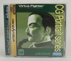 Sega Saturn Japanese : Virtua Fighter CG Portrait Series Vol.6 Lau Chan GS-9069 - Sega