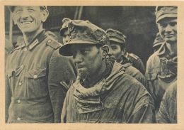 68 Colmar, Guerre 39-45, Prisonniers Allemands - Colmar