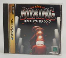 Sega Saturn Japanese : The King Of Boxing T-6001G - Sega