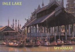 Myanmar - Inle Lake - Nice Stamp - Myanmar (Burma)