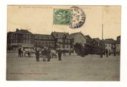 Cpa N° 118 BERCK PLAGE Conduite D´un Bateau à La Mer - Berck