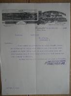 Brief 1909 - FRANKENTHAL - ALBERT & Cie - Schnellpressenfabrik - 1900 – 1949