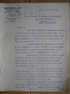 Lettre 1923 GENEVE - BALE - ZURICH - BANQUE COMMERCIALE DE BALE - Suisse