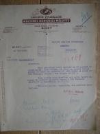 Lettre 1942 GIVET - MACHINES AGRICOLES MELOTTE - France