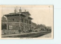 ORSAY : La Gare Intérieure. 2 Scans. Edition Senault - Orsay