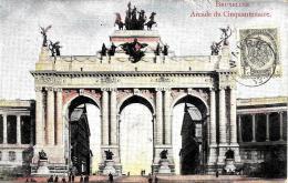 [DC2753] CPA - BELGIO - BRUXELLES - ARCADE DU CINQUANTENAIRE - Viaggiata - Old Postcard - Monumenti, Edifici