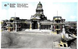 [DC2758] CPA - BELGIO - BRUXELLES - PALACE DE JUSTICE - Non Viaggiata - Old Postcard - Monumenti, Edifici