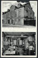 2407 - Alte Ansichtskarte DEFEKT - Gasthaus Gaststätte Zum Stern - Eibenstock Gel 1936 - Eibenstock