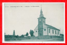 54 - PEXONNE -- L'Eglise - Le ùmonument - France