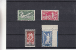 France - Yvert 183 / 86 ** - MNH - Jeux Olympiques - Valeur 158 Euros - France
