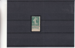 France - Yvert 188 A * - MH - Semeuses - Mineraline - Valeur 500 Euros - France