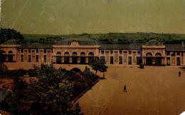 96825 - Marmande (47) La Gare Et Le Square - Marmande