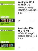 Part 7/1+2 Australien MICHEL 2016 New 168€ Australia Cook Falkland Fiji Marshall Niue Norfolk Oceania Palau Tonga Tuvalu - Tarjetas Telefónicas