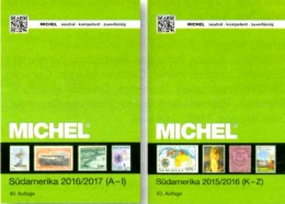 Amerika Band 3/1+2 MICHEL 2016 Neu 168€ Americo Argentinia Bolivien Brazil Chile Ecuador Guyana Paraguay Surinam Uruguay - Livres & Logiciels