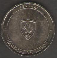 GETTONE TOKEN ITALIA FERRARI CAMPIONE DEL MONDO 2004 - Italia