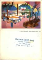 44 - FEGREAC - Petit Calendrier 1987 - Pub De La Pharmacie - Tamaño Pequeño : 1981-90