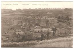 HOLLOGNE -AUX - PIERRES    ---  Panorama  --  Institut Saint -Lambert   ( 2 Scans ) - Grâce-Hollogne