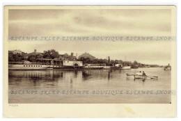 Pinsk  [Belarus] Postcard  River Pina  (221) - Belarus