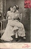 Couple. Theatre Des Folies Dramatiques. Le Billet De Logement - Parejas
