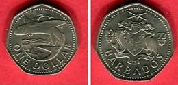 1 DOLLAR ( KM 23 ) TTB  5 - Barbades