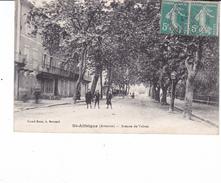 St Affrique Tres Animée Avenue De Vabres 1919 Edit Grand Bazar - Saint Affrique