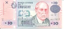 6-944. Billete Uruguay. P-81. 10 Pesos 1998 - Uruguay
