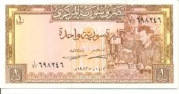 6-939. Billete Siria. P-93. 1 Pound 1982 - Siria