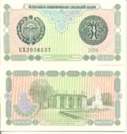 6-938. Billete Uzbekistan. P-73. 1 Sum 1994 - Uzbekistán