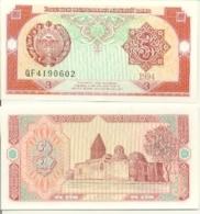 6-936. Billete Uzbekistan. P-74. 3 Sum 1994 - Uzbekistán