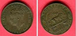 1 SHILLING 1917   ( KM 28) TB  4 - British Colony