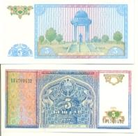 6-935. Billete Uzbekistan. P-75. 5 Sum 1994 - Uzbekistán