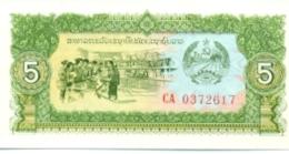 6-931. Billete Laos. 5 Kip 1979 - Laos