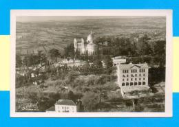 CPM  FRANCE  47  ~  PENNE-D'AGENAIS  ~  N.-D. De Peyragude, Le Sanctuaire, La Maison Des Pères, Vue Aérienne - France