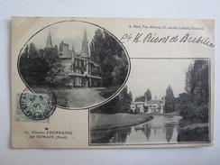 59 Nord Château D'Hornaing Par Somain - France