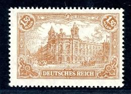 Deutsches Reich MiNr. 114 B Postfrisch/ MNH Infla Geprüft (RM65 - Germany