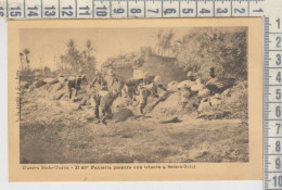 Libia Libya Guerra Italo Turca  63° Fanteria In Trincea Sciara Sciat 1912 - Libye